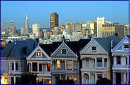 Victorian Houses in San Francsico