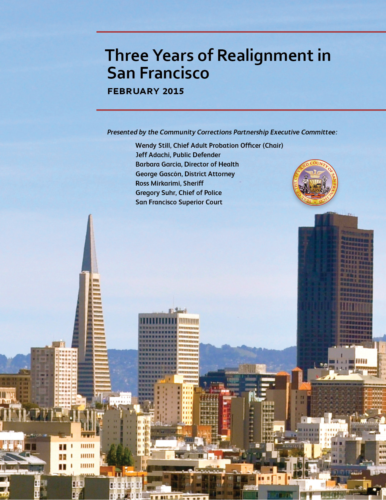 Three Years of Realignment in San Francisco