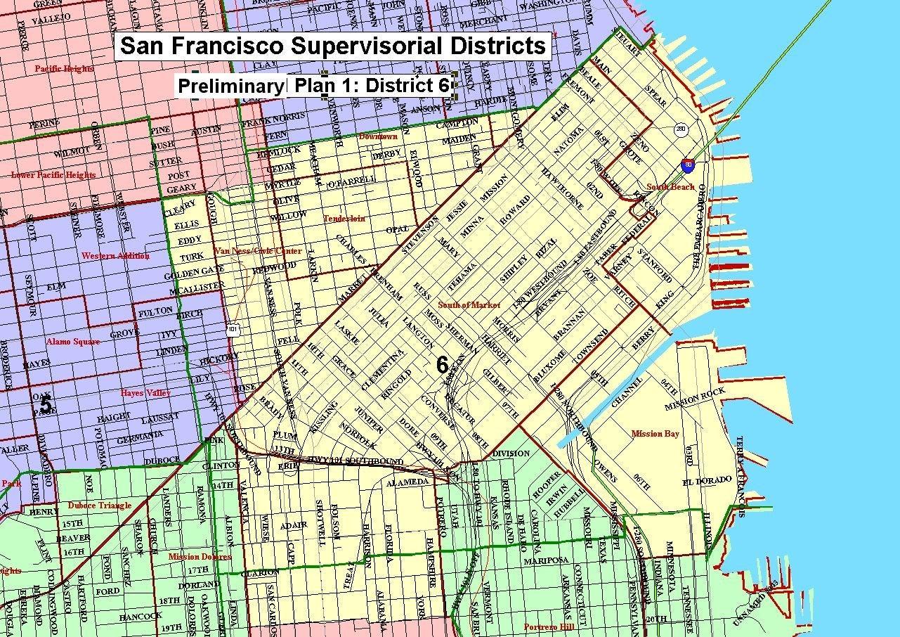 Re Districting >> SF District Maps & Data | SF GSA