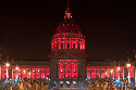 San Francisco City Hall 'A Vision in Red'
