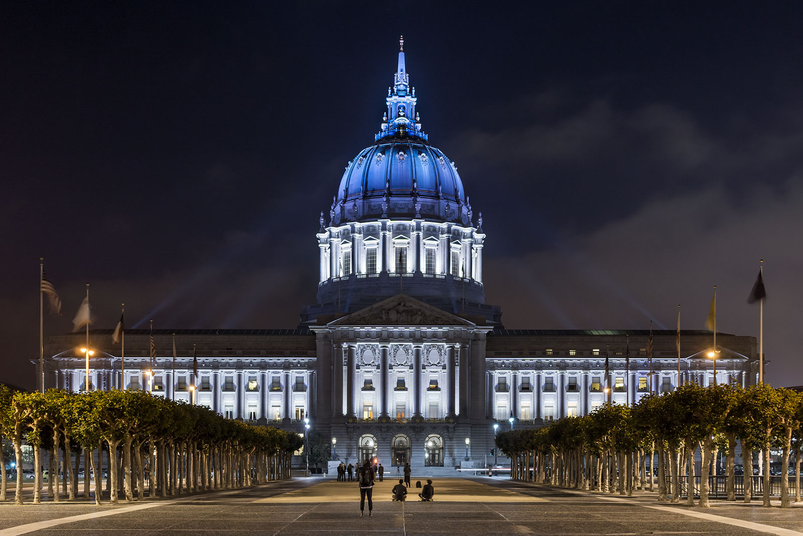 Photo Gallery - City Hall Exterior at Night