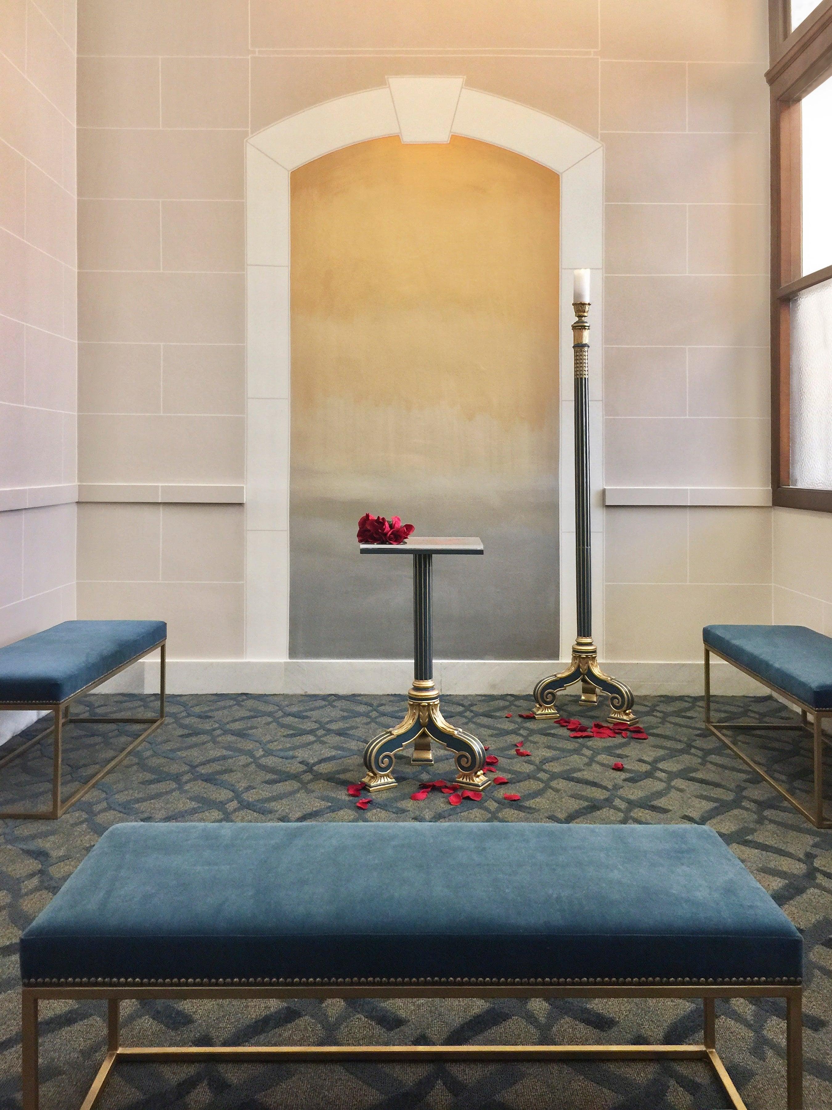 San Francisco County Clerk Ceremony Room