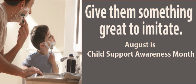 Child Support Awareness Month Banner 2017