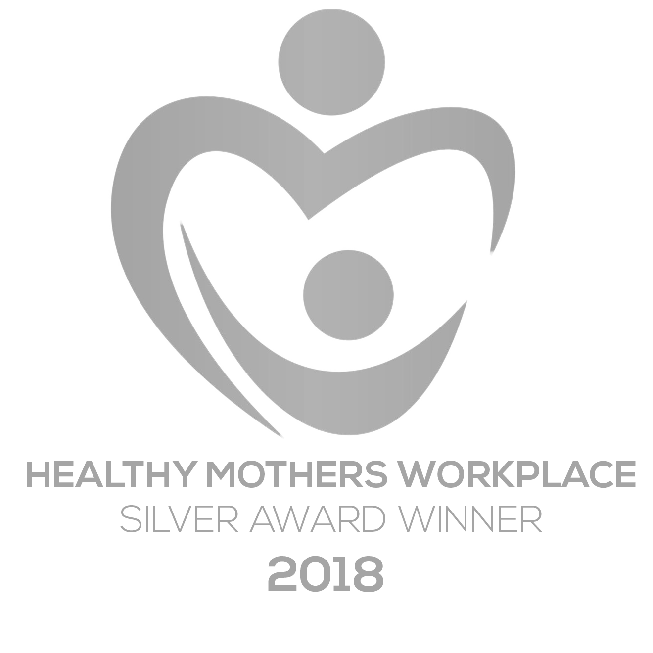 Healthy Mother's Award Silver for 2018