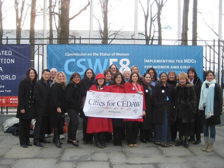 San Francisco Delegation at the CSW 58