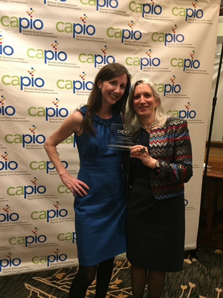 CAPIO award ceremony April 13, 2016