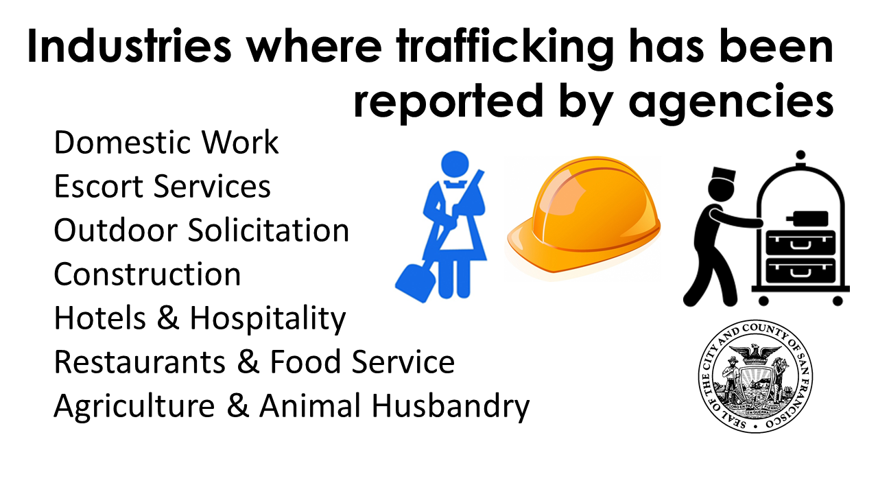 Human Trafficking Social Media Graphic