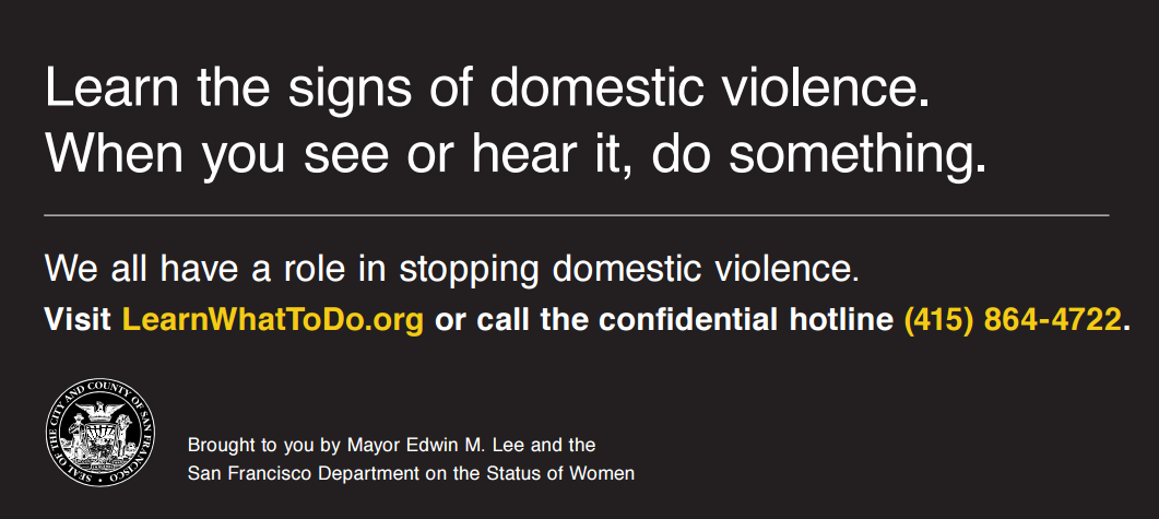 Domestic Violence Awareness Month Campaign