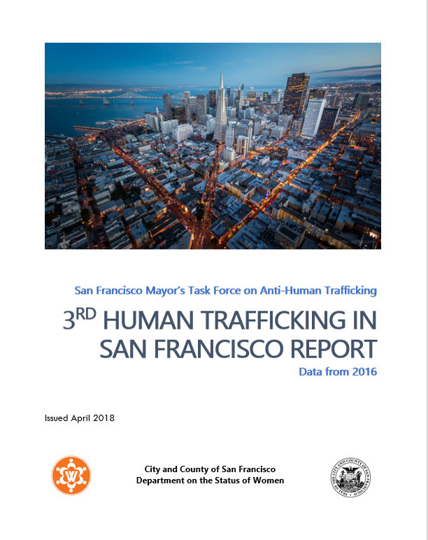 Report Cover of 3rd Annual Human Trafficking Report