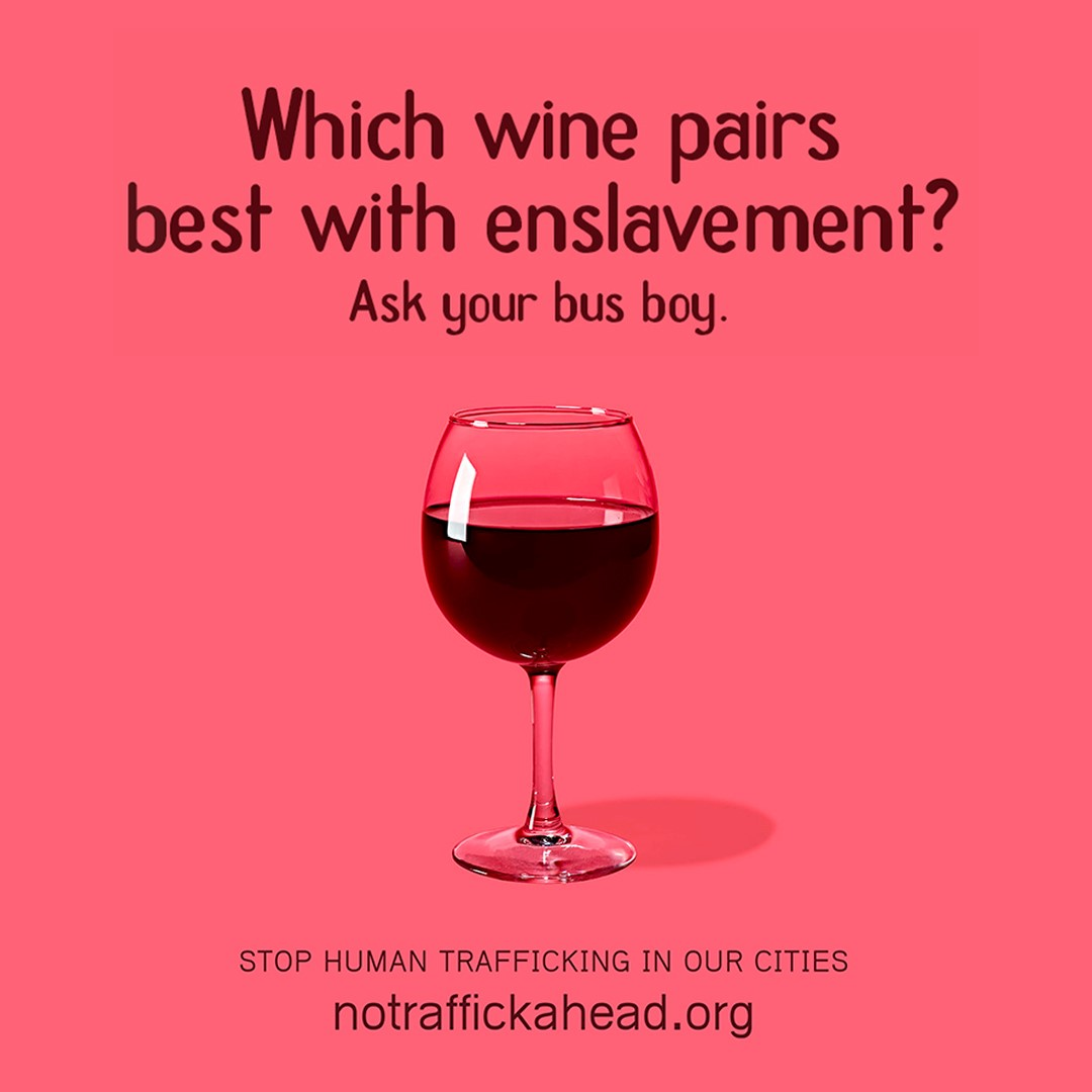 Which wine pairs best with enslavement
