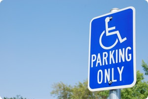Temporary Accessibility Signage image