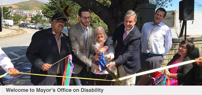Welcome to Mayor's Office on Disability