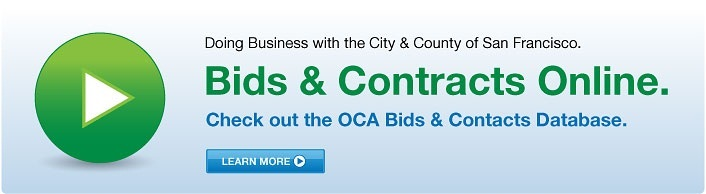 Check out the OCA Bids & Contracts Database.
