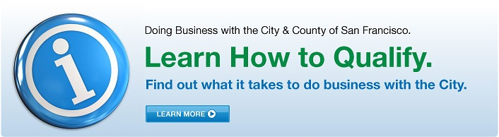 Learn how to qualify to do business with the city