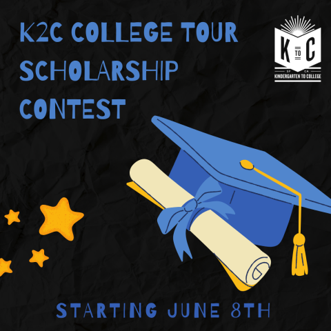 K2C College Tour Scholarship Contest Promotion