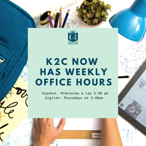 K2C Office Hours