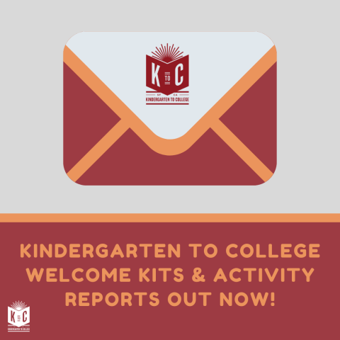K2C Welcome Kit and Activity Report 2020