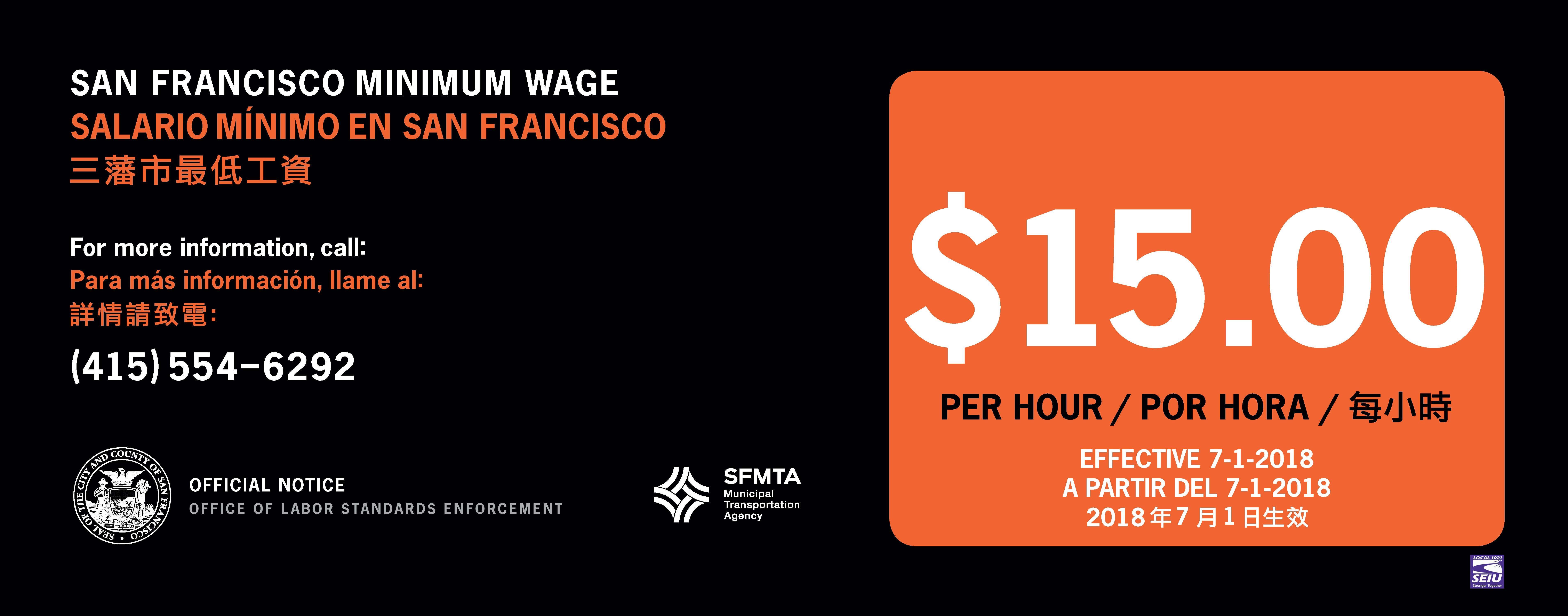 Minimum Wage Ordinance | Office of Labor Standards Enforcement