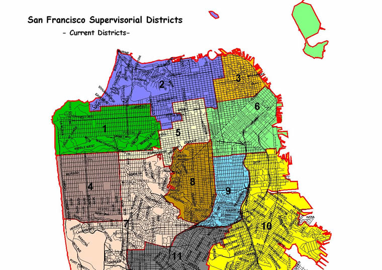 city and county of san francisco   sf district maps  u0026 data