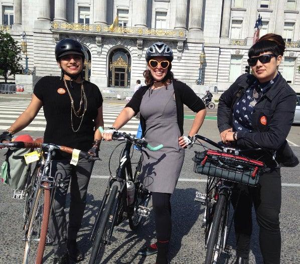 SF BAC Members at Bike to Work Day