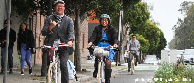 The San Francisco Bicycle Plan