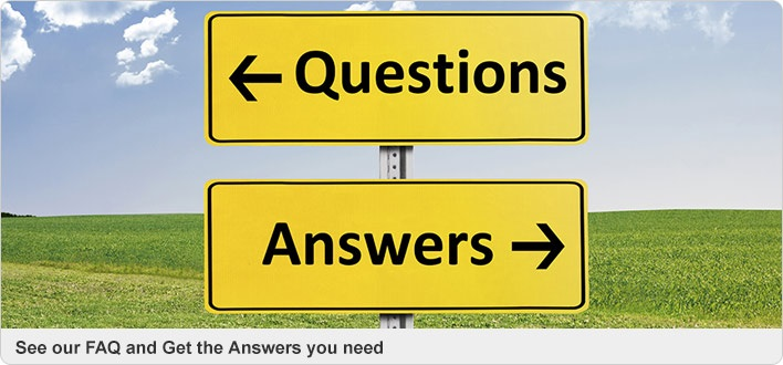 see our faq and get the answers you need