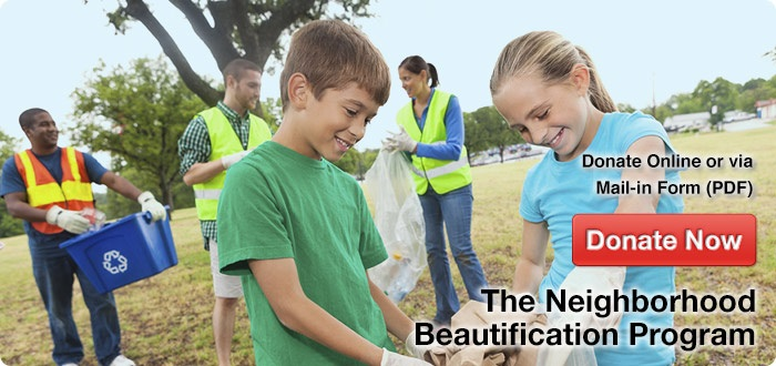 the neighborhood beautification program