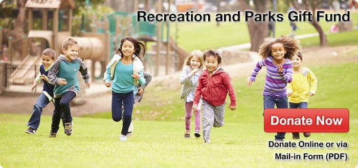 recreation and park gift fund