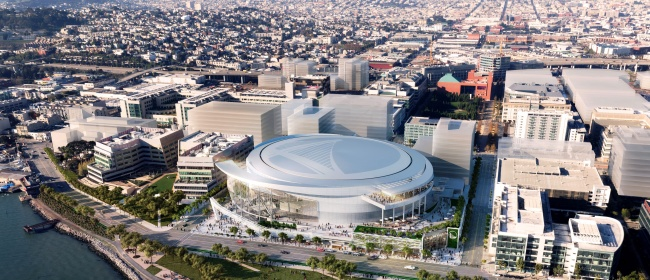 Golden State Warriors Arena East
