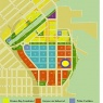 Mission Bay Plan parcel map with Golden State Warriors Arena site