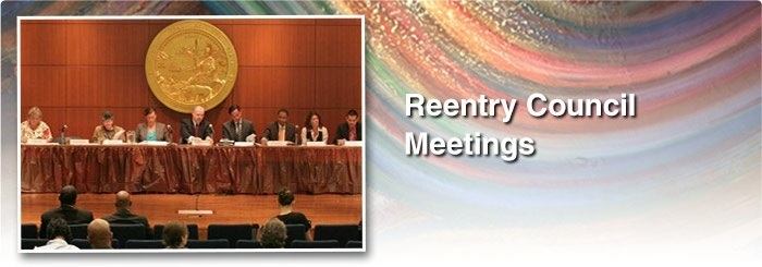 Slide 1: Reentry Council Meetings