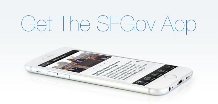 Get the SFGov App