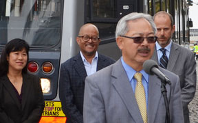 Mayor Announces $45 Million State Funding to Expand Muni Fleet